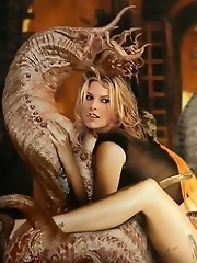 Celebs having sex with monster creatures